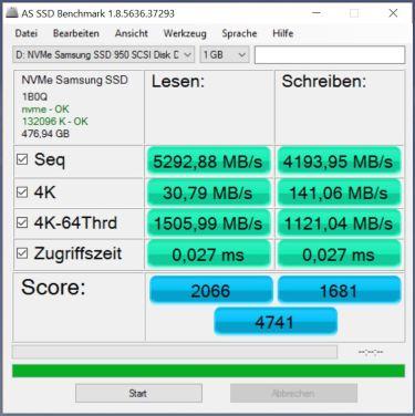3x950 Pro RAID0 AS SSD(Samsung Driver)